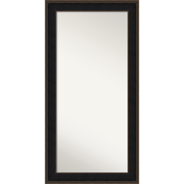 Wall Mirror Choose Your Custom Size Oversized Mezzanine Espresso