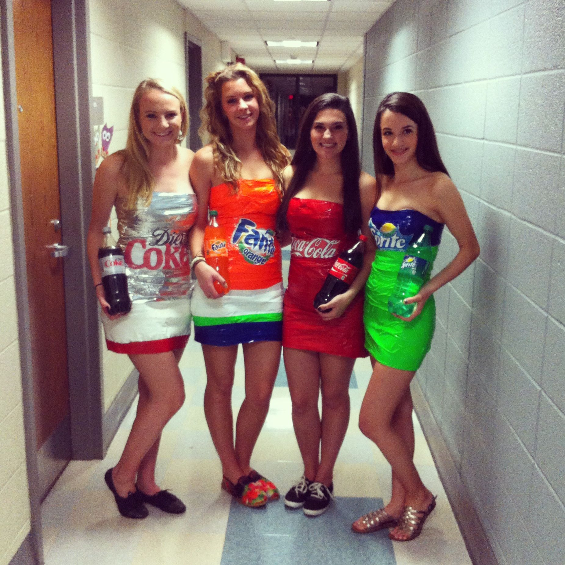Diy Halloween Costume Soda Cans College