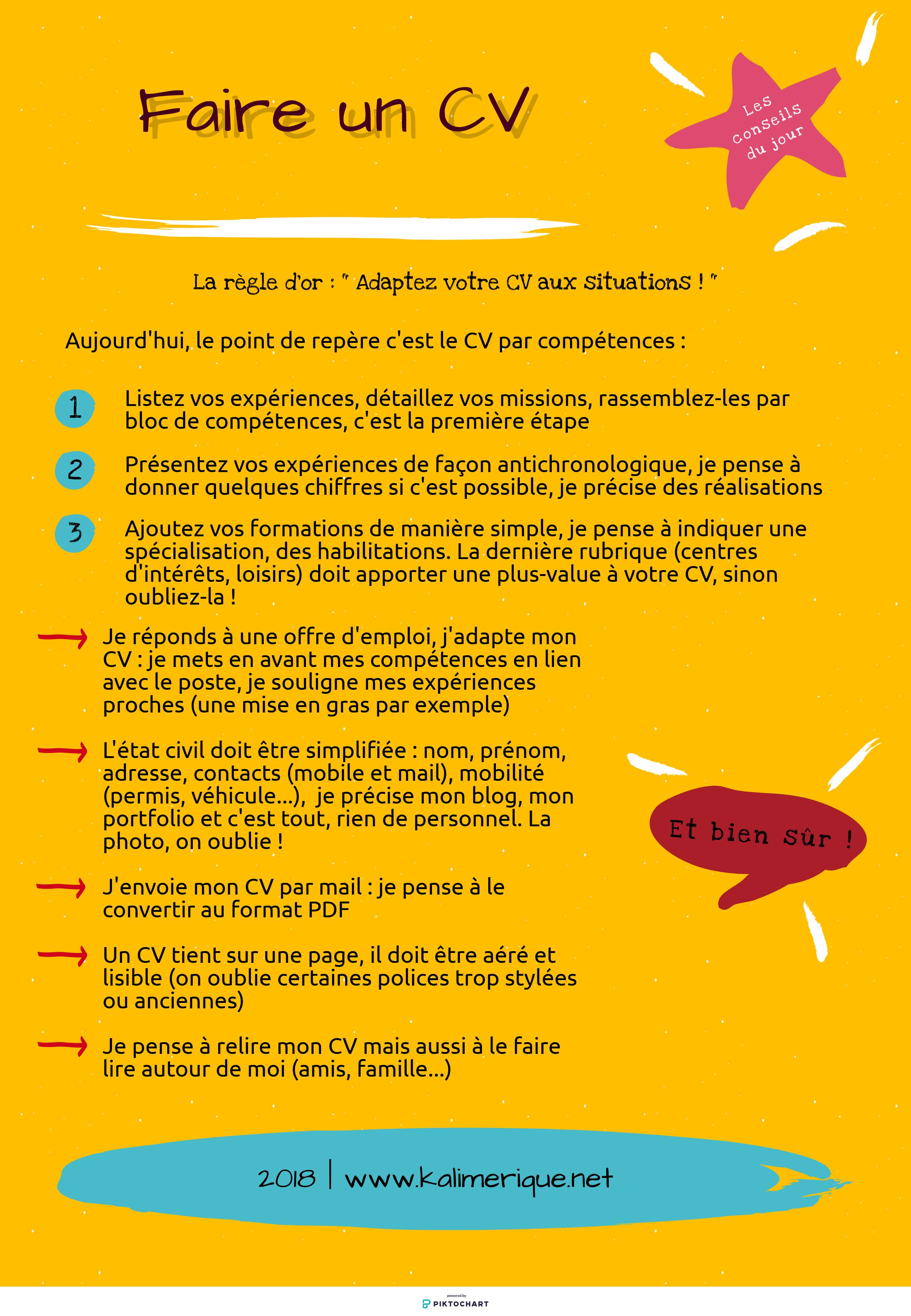 Faire Un Cv Les Conseils Exemple De Lettre De Motivation Lettre De Motivation Emploi Faire Un Cv