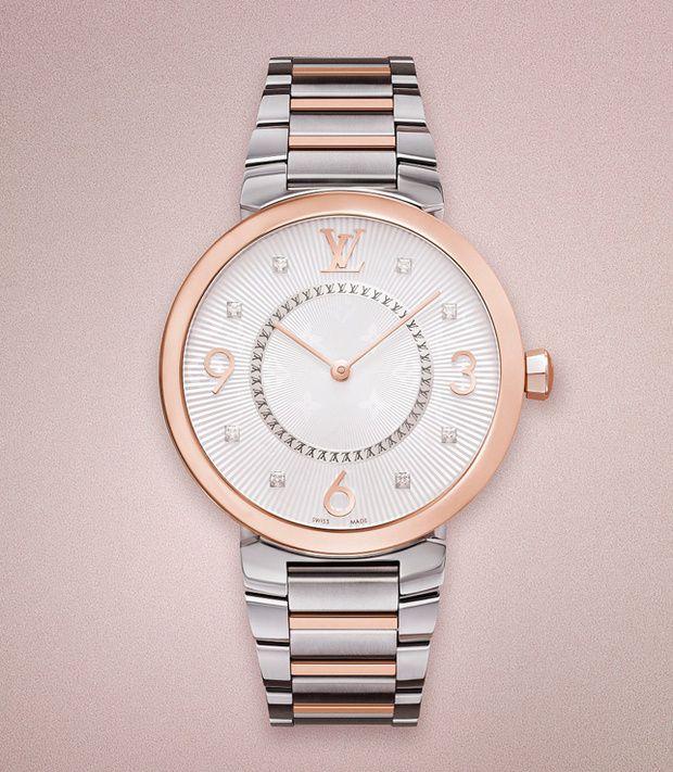 Flechazo del día  Reloj de Louis Vuitton Relojes Finos e4f040cdf50b