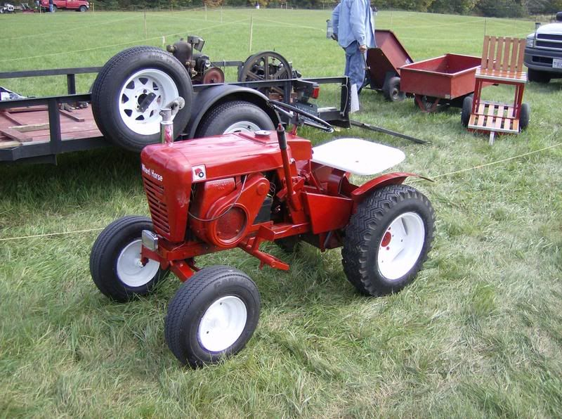 Mini Antique Tractors : Old lawn tractor google search reel horse pinterest
