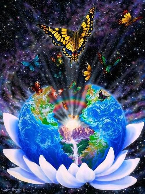 art trippy lsd dream imagine acid psychedelic space galaxy ...