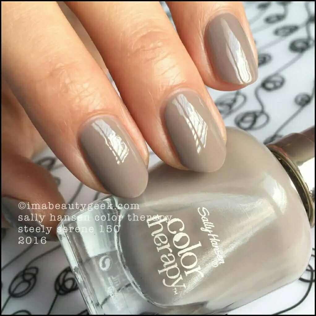 Colour therapy for beauty - Sally Hansen Color Therapy Line In Steely Serene