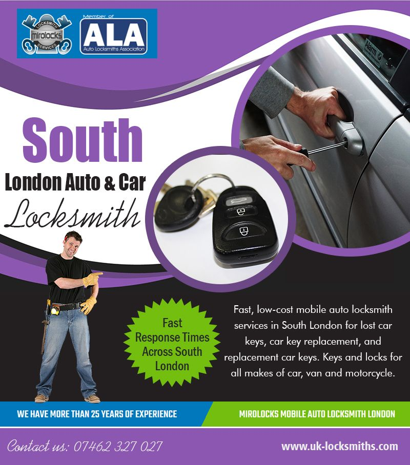 South London Auto & Car Locksmith Call 07462 327 027
