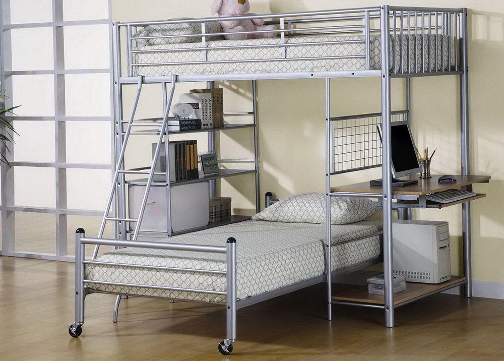 Etagenbett Metall : Metall etagenbett twin Über volle schlafzimmer