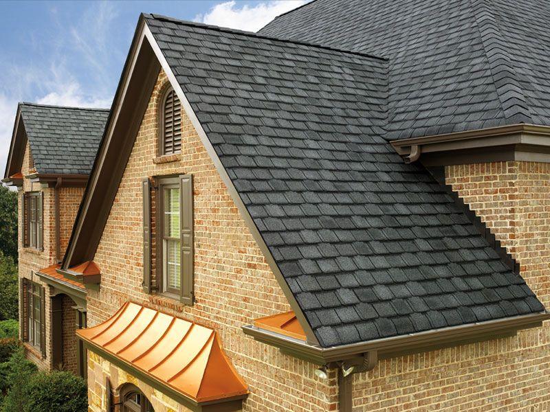 Antique Slate Gaf Designer Roof Shingles Home Http Www Abedward Com Synthetic Slate Roofing Gaf Timberline Shingles Residential Roofing