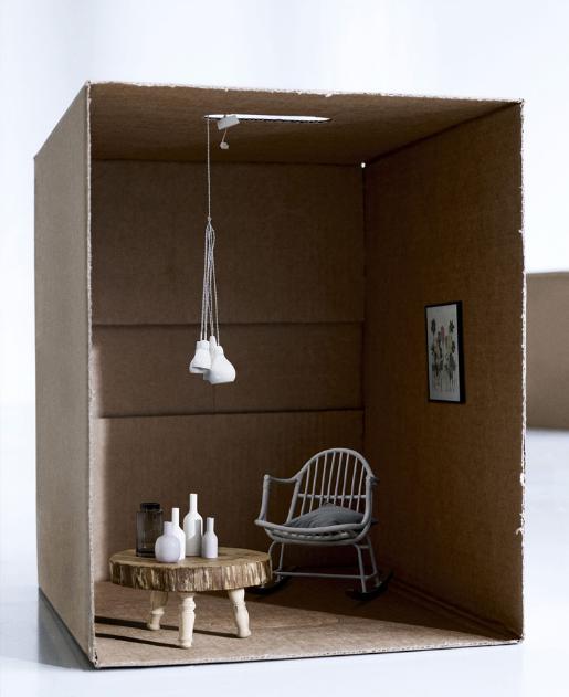Gitte kjaer st y l i n g casa de mu ecas en miniatura for Imitazioni mobili design