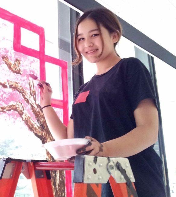 Meet Art Prof Intern Anna Campbell, an incoming art school freshman!