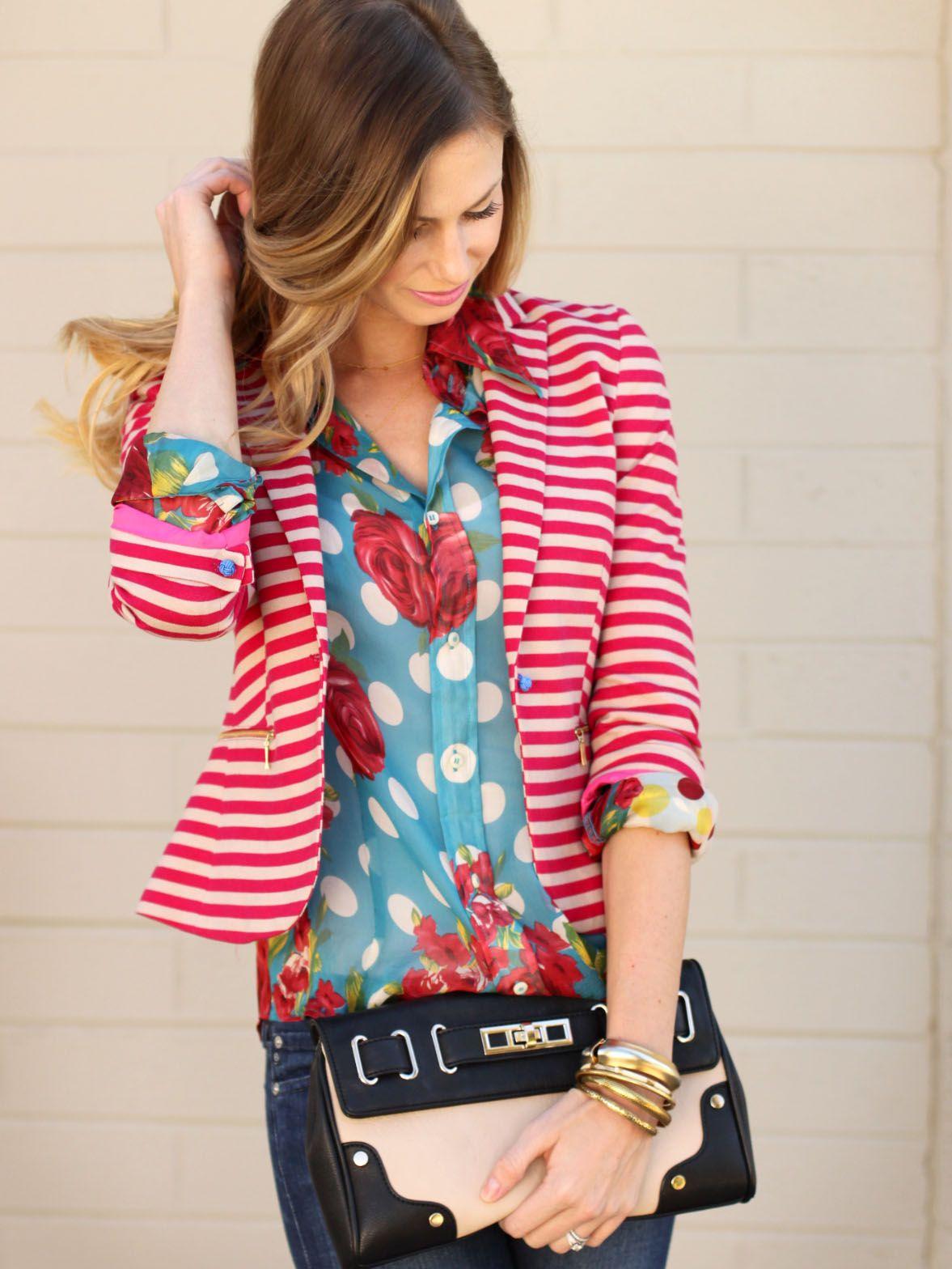 love the intermixing of patterns | Raiment | Pinterest | Trajes de ...