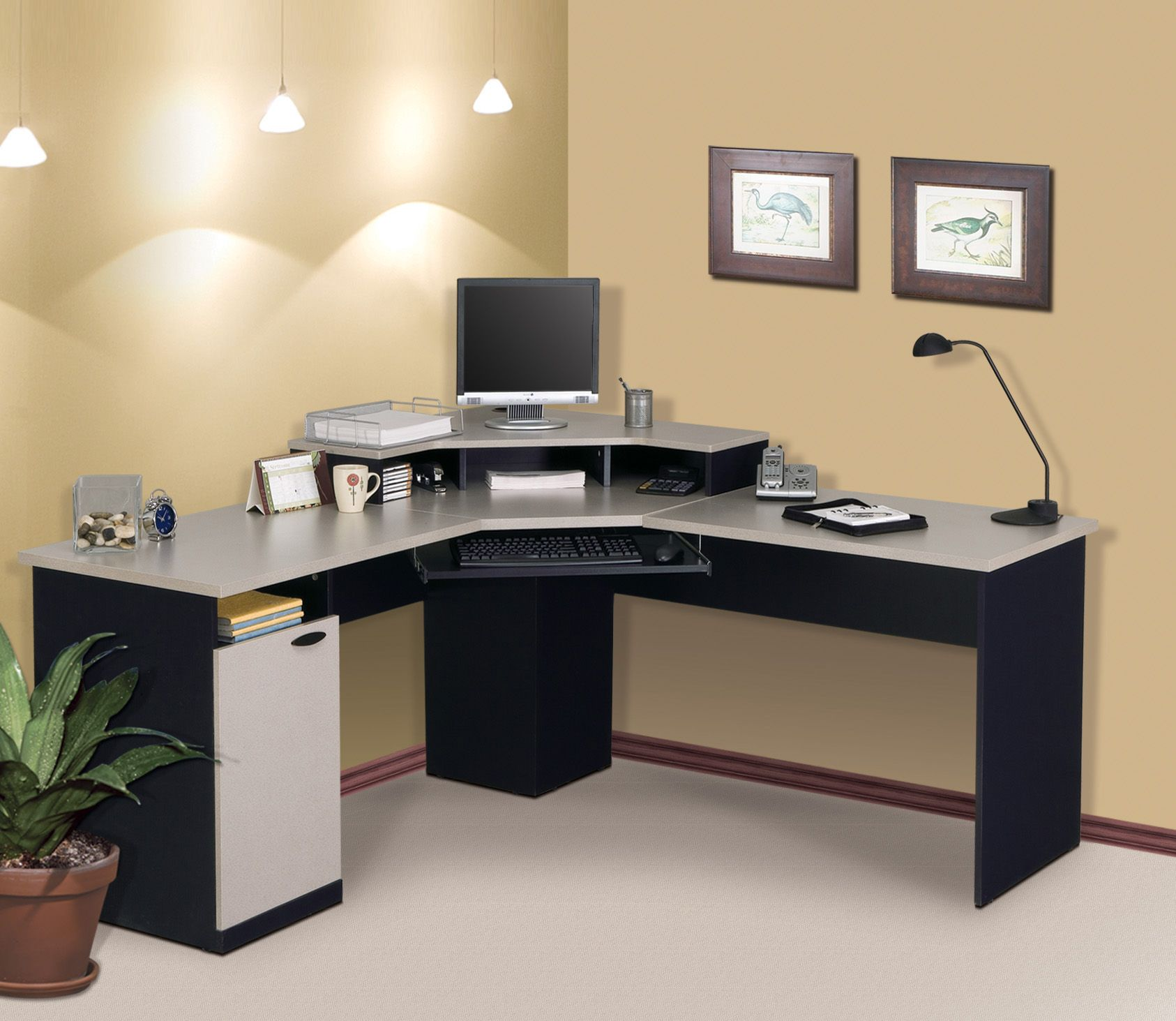 Best Desk Design painting of cheap corner desks: budget friendly and room