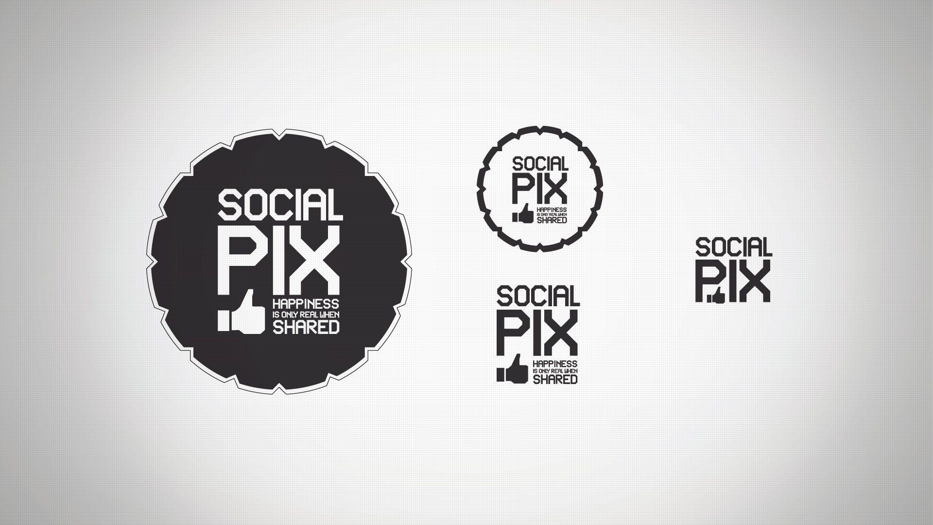 Social Pix - Logotipo
