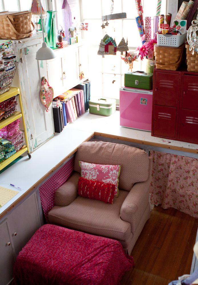 Craft room j 39 aime pinterest mobilier de salon maison et ma maison de r ve - Salon des travaux manuels ...