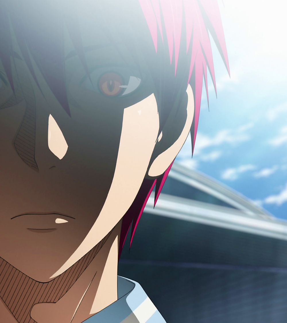 Seijūrō Akashi (赤司 征十郎 Akashi Seijūrō) was the captain of Generation of Miracles. He is the only person that the Generation of Miracles knuckles under. He is now the point guard and captain of Rakuzan High. Akashi Seijuro has a rather small stature for someone who has captained the Generation of Miracles, as noted by Furihata, at only 173 cm tall, making him the shortest out of the Generation of Miracles. He has spiky red-maroon hair, large eyes with vertical pupils. His hair was worn…
