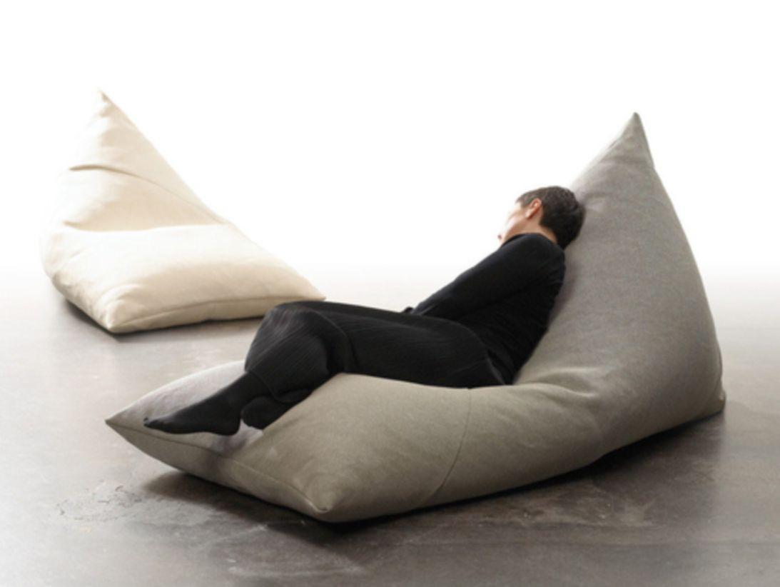 The Maximus Giant Beanbag Chair Faux Leather Bean Bag Chair