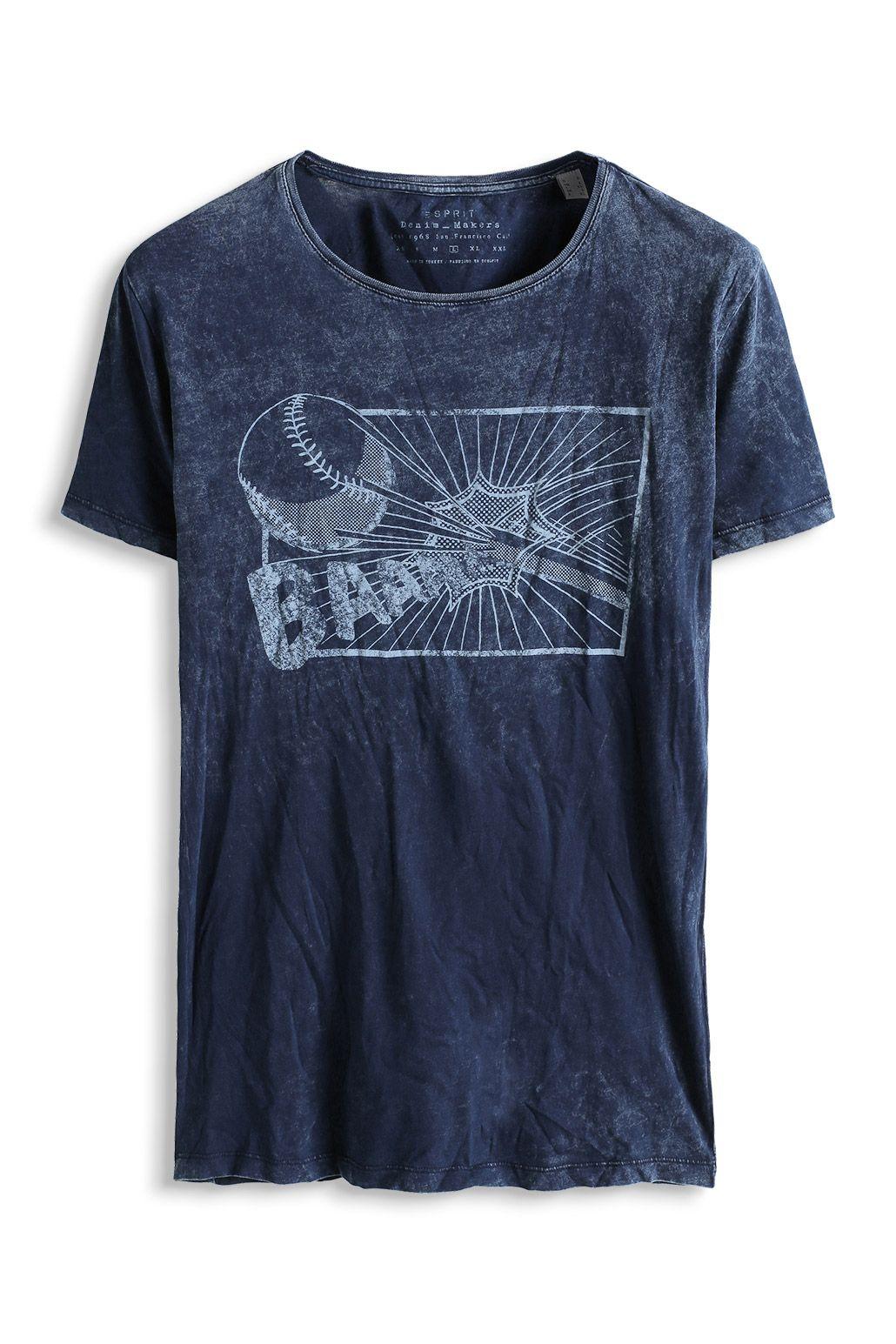 for esprit baumwoll jersey print t shirt im online shop kaufen t shirt. Black Bedroom Furniture Sets. Home Design Ideas