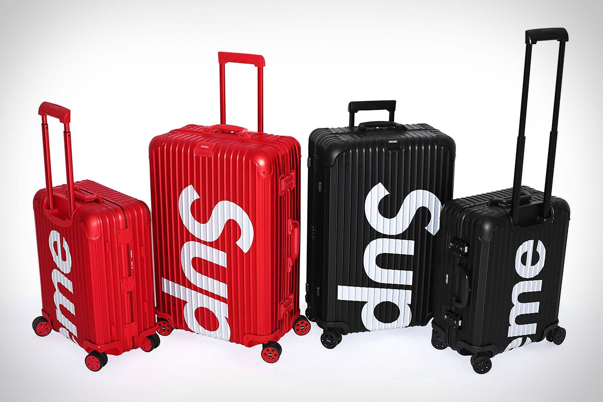 59cfa788f1d7 Rimowa x Supreme Topas Luggage
