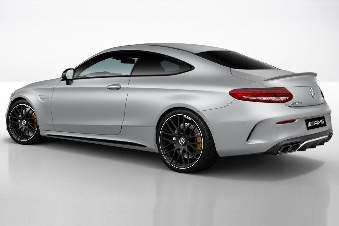 Night Package For Mercedes Amg C63 Coupe Introduced Mercedes Amg Mercedes Coupe Mercedes Benz Models