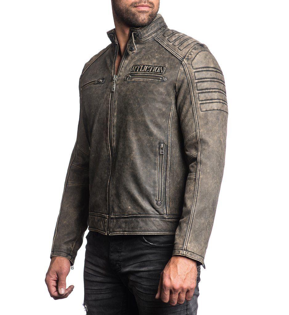 Affliction Iron Head 595 Affliction, Jackets, Mens jackets