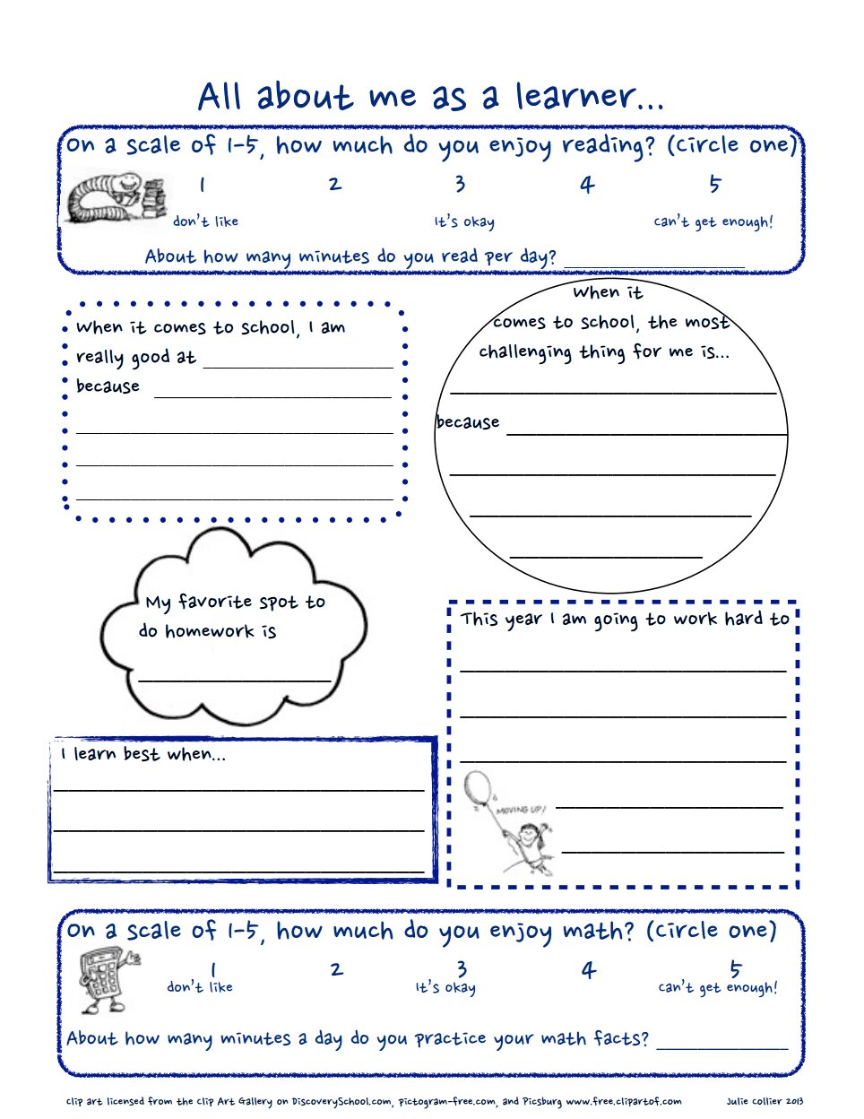 worksheet All About Me Middle School Worksheet all about me pdf fabulous fourth grade pinterest school pdf