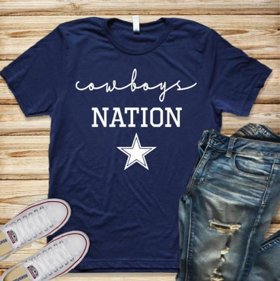 best service 3032e ec4c2 Cowboys Nation Shirt//Cowboys Football Shirt//Football Shirt ...
