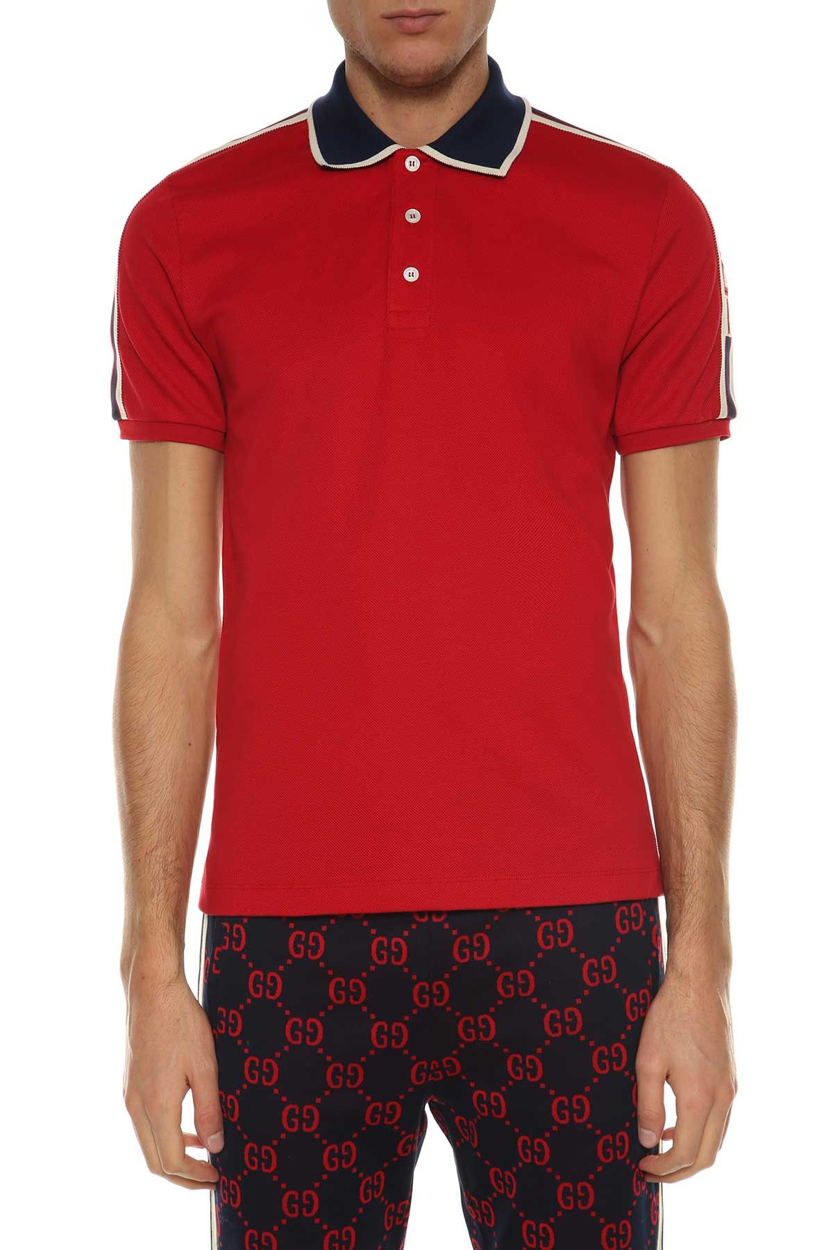 fe27451d GUCCI PIQUÉ POLO SHIRT. #gucci #cloth # | Gucci Men