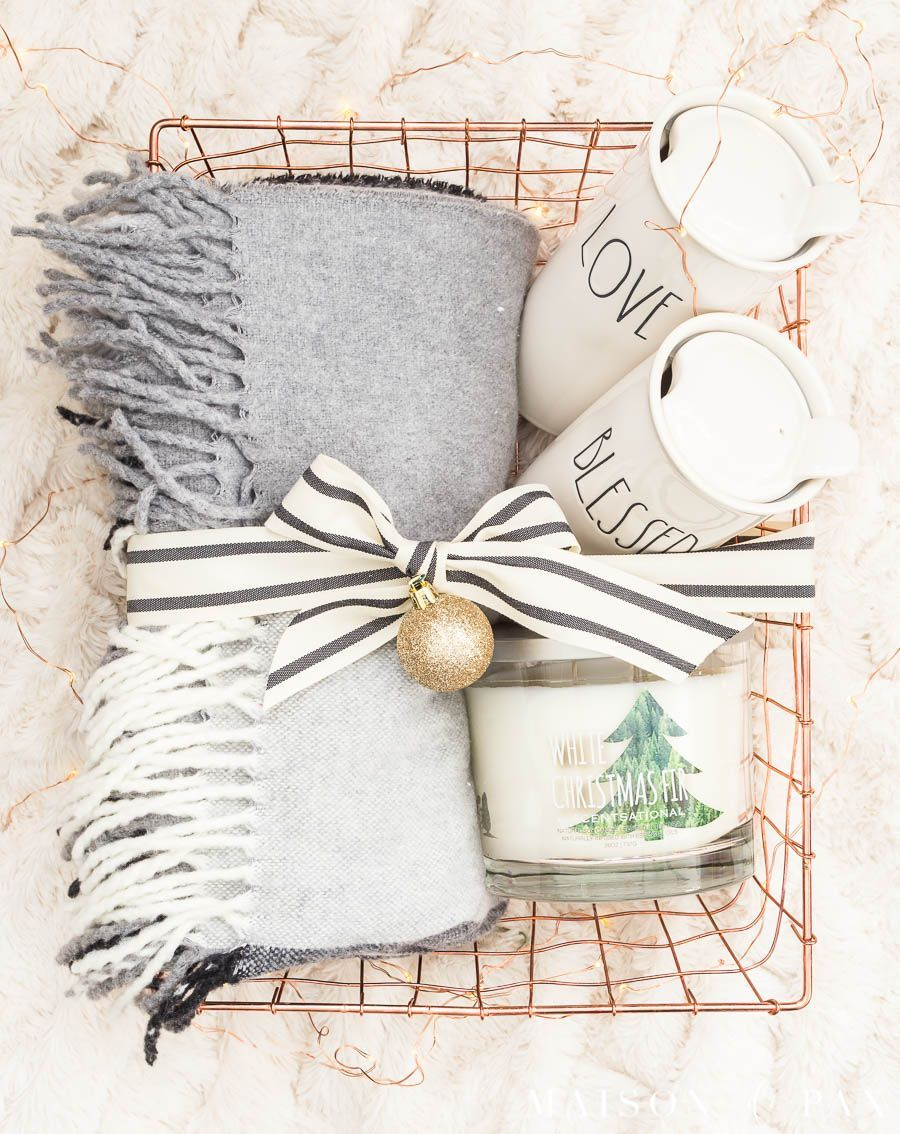 Easy Gift Basket Ideas for the Holidays - Maison de Pax