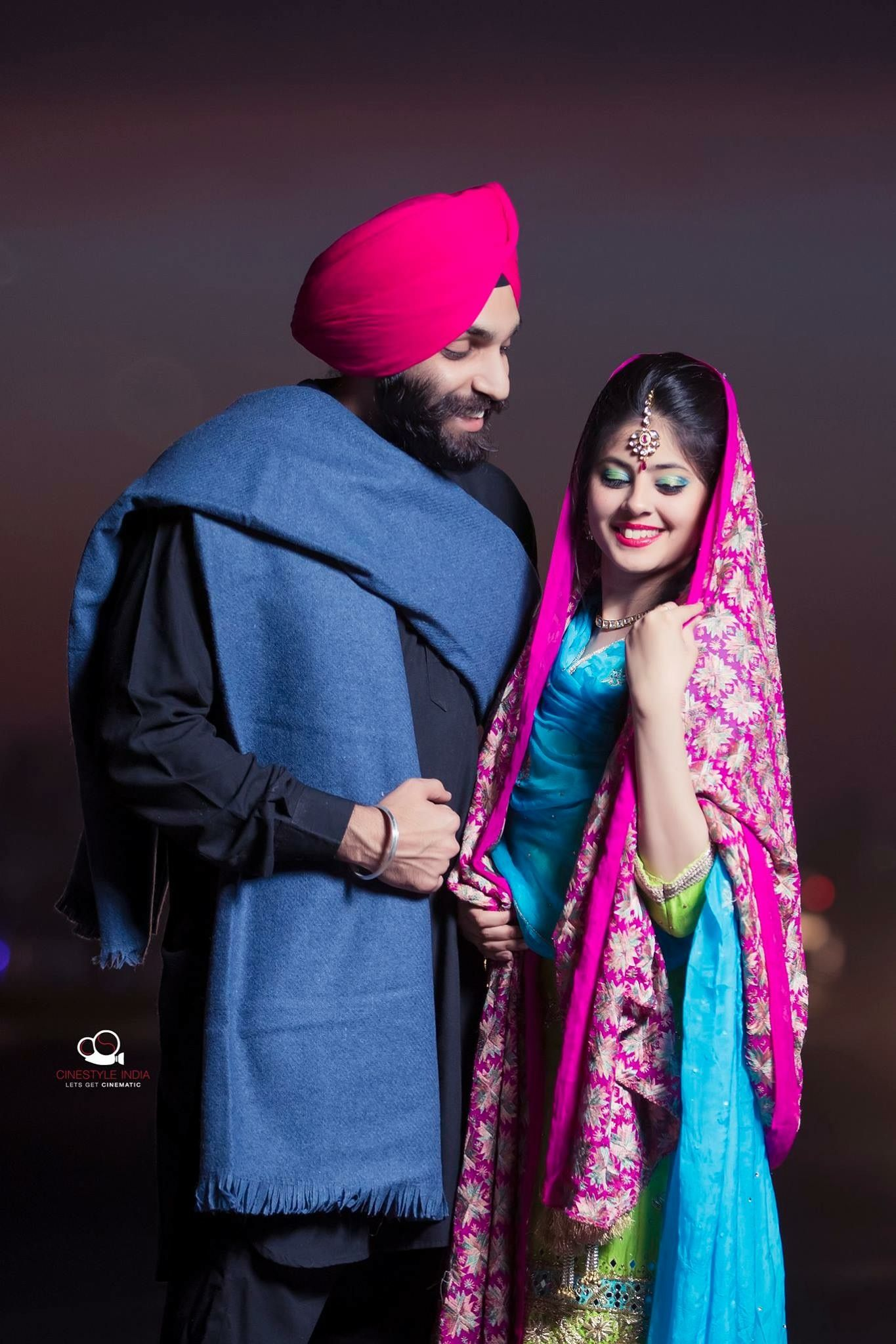Pin by ms new sad status on mehmood in 2019 | Punjabi wedding couple