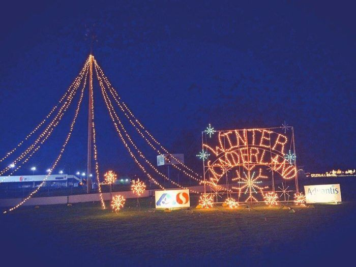 Sunshine Division Winter Wonderland at Portland International Raceway - 10 Christmas Light Displays In And Near Portland That Are Pure Magic