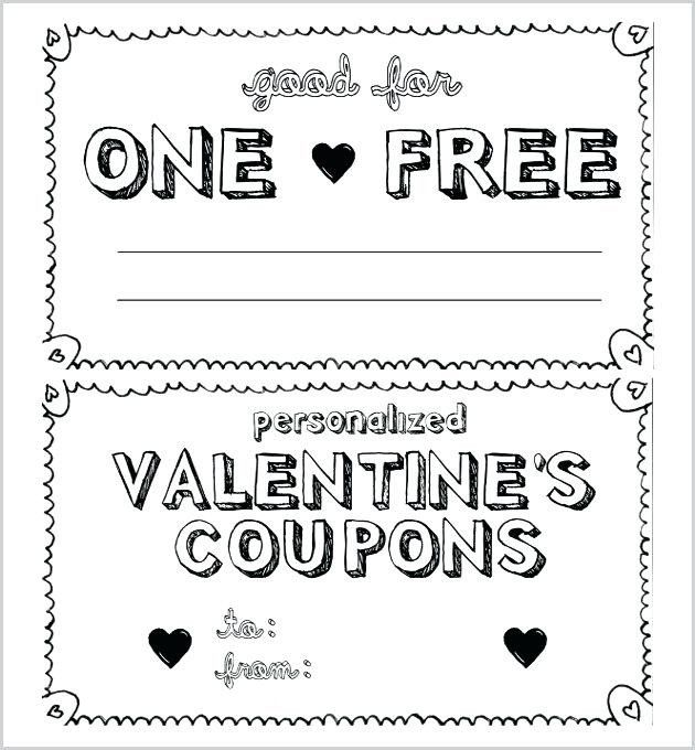 25 make your own coupon template in 2020  with images