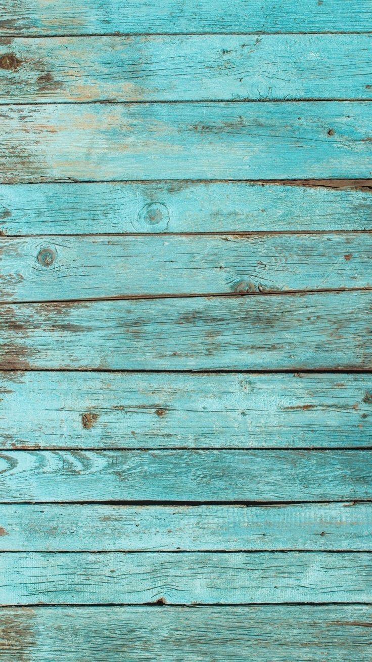 تصویر زمینه قطعه چوب آبی رنگ Blue Wood Wallpaper Phone Wallpaper
