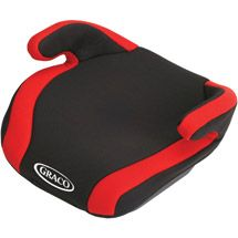 Walmart Graco CONNEXT Backless Booster Car Seat With Latch Red Pepper