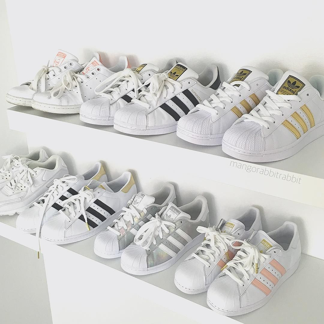 pretty nice fa8be 838ea Kerina Mango ( mangorabbitrabbit) • Instagram photos and videos Adidas  Superstar Tumblr, Adidas