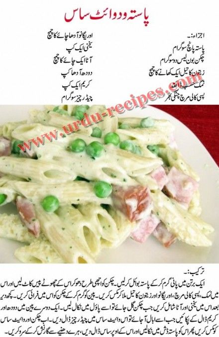 Pasta With White Sauce Recipe In Urdu Easy