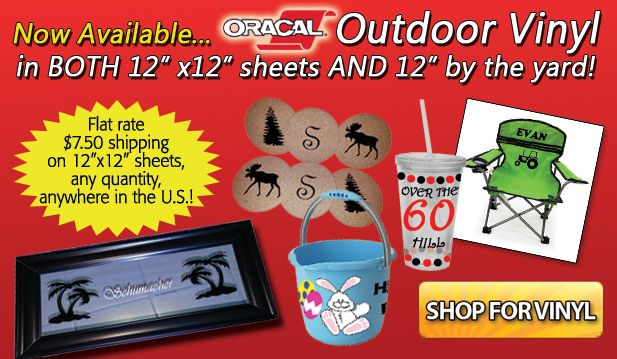Crafters Corner Supplies - Equipment, Vinyl & Heat Transfer Material for Crafters