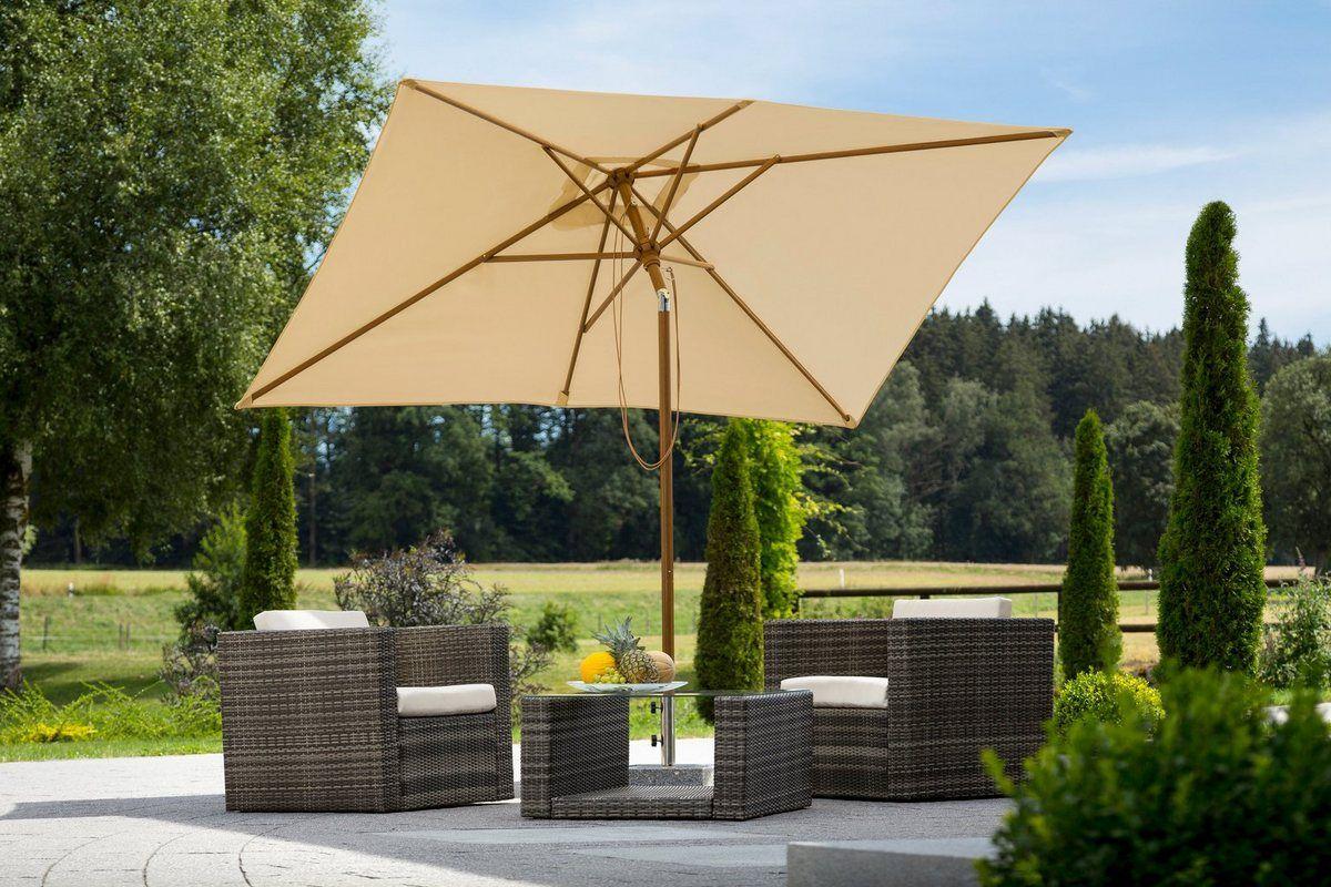 Sonnenschirm Malaga 300x200 Cm Ohne Schirmstander In 2020