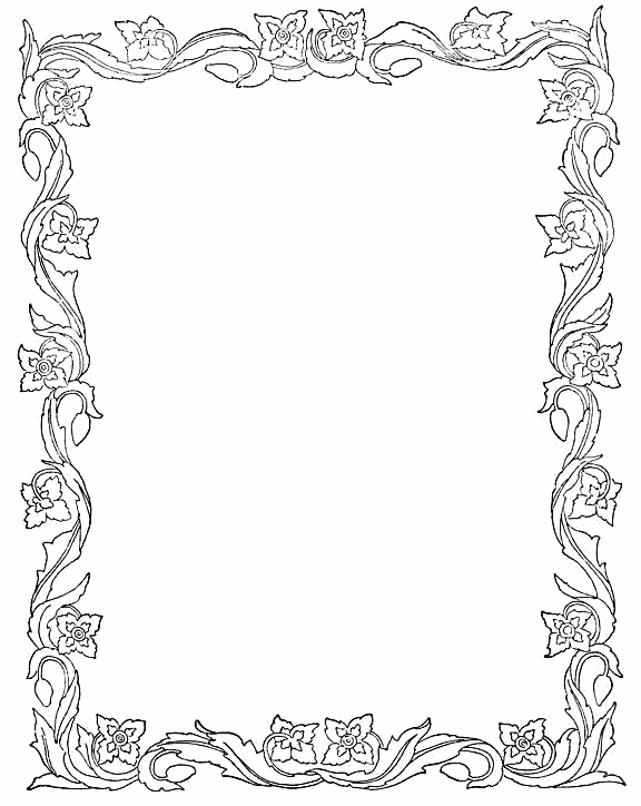 image about Free Printable Border Paper referred to as Photoshop Borders Templates printable spring leaves border