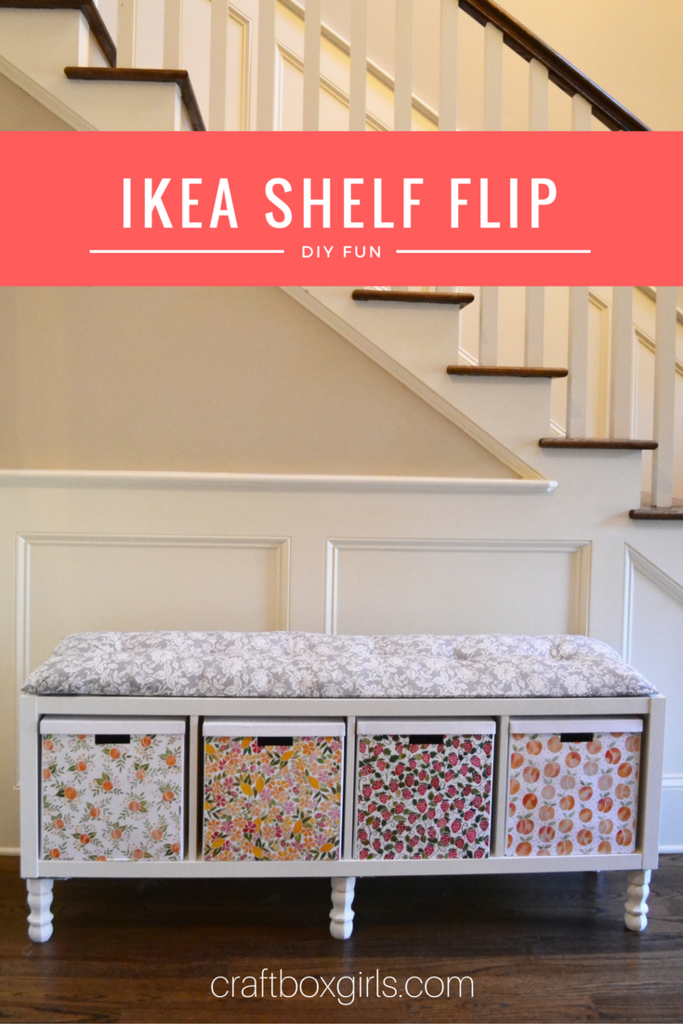 Flip That Old Bookshelf Into Functional Storage Bench Great As A Window Seat At