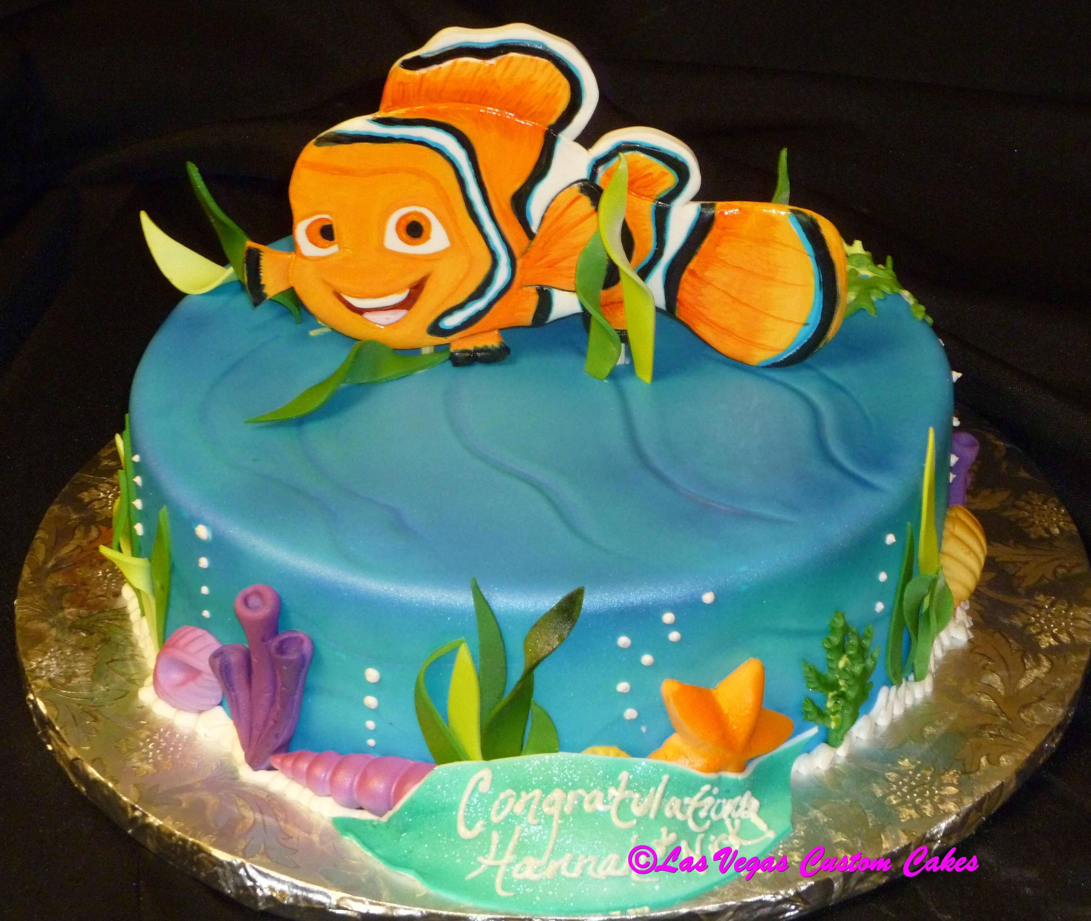 Finding Nemo Childrens Birthday Cake