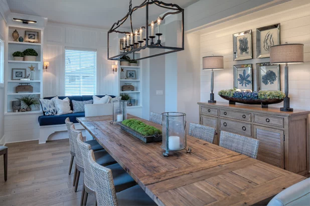 The 10 Most Popular Dining Rooms On Houzz Right Now Dining Room Cozy Dining Room Console Table Beach Dining Room