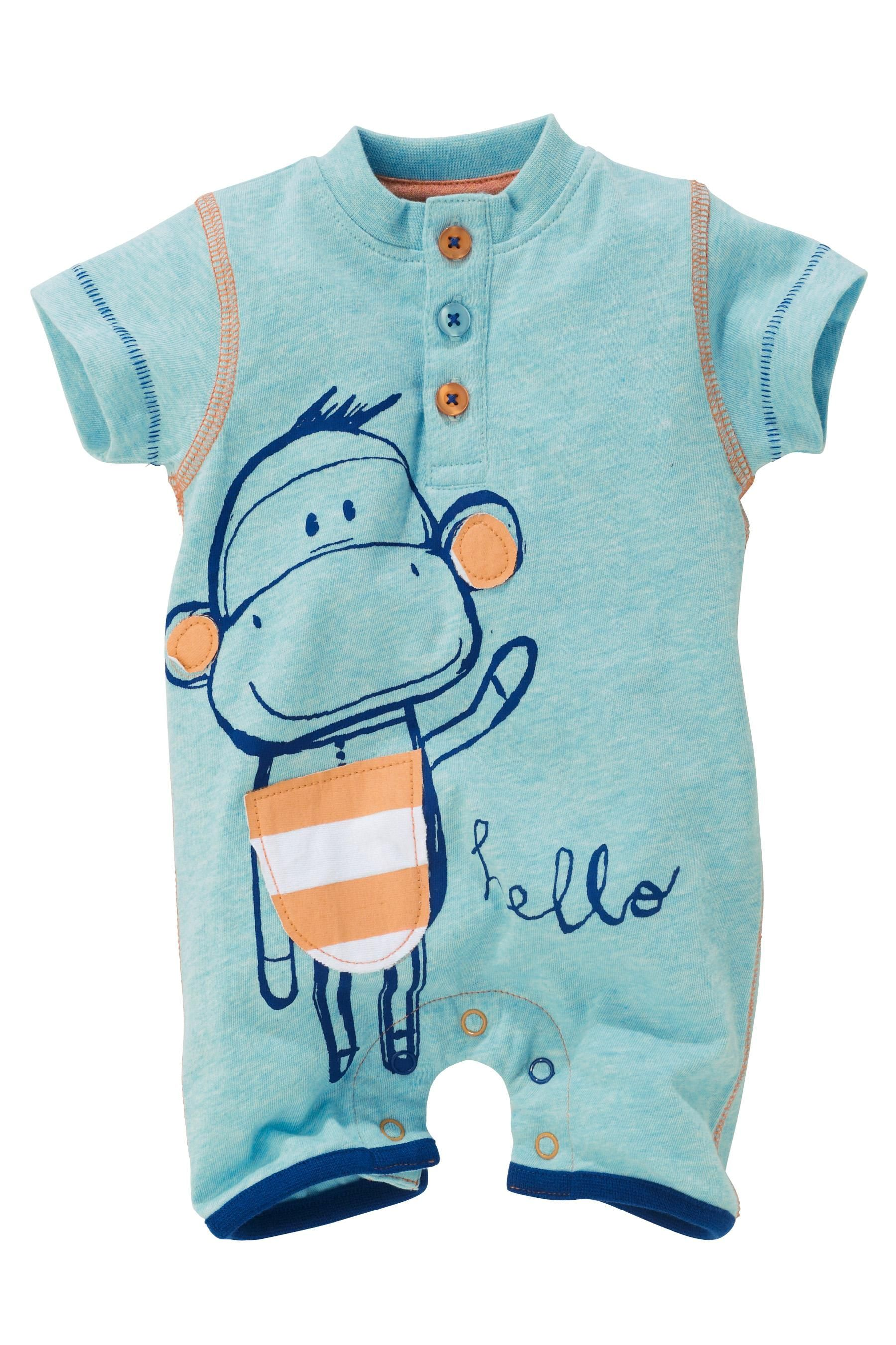 Buy Monkey Rompers Two Pack 0 18mths from the Next UK online shop
