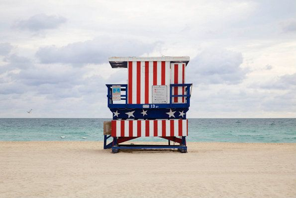 Beach Huts Miami Hut