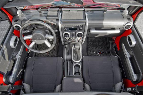Silver Interior Trim Accent Kit Jeep Wrangler Interior Jeep