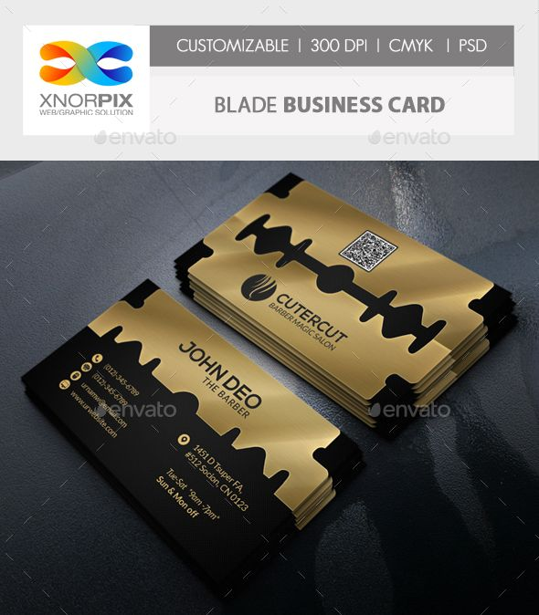 Blade business card reheart Gallery