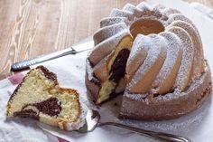 Der Marmorkuchen mit Qimiq versüßt auch ihren Nachmittag bestimmt. #marmorkuchen #gugelhupf #kuchen