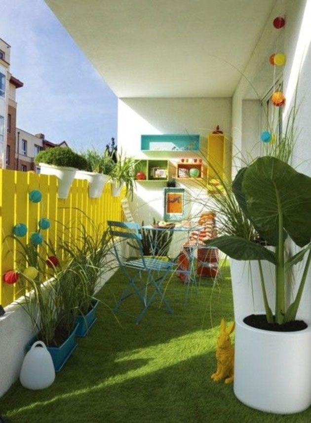 15 ideas para terrazas con césped artificial Instalación (Vídeo) y