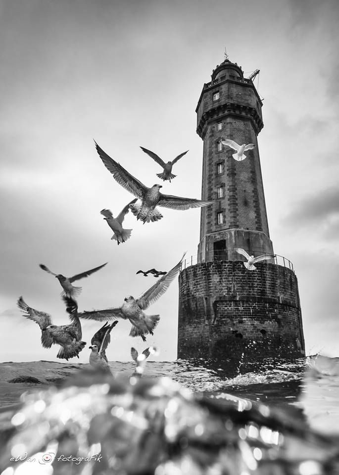 Photographies Du Phare De La Jument En 2019 Photo Noir Et