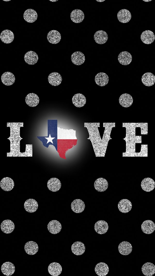 I Love Texas Iphone Wallpaper Freebie Iphone Background