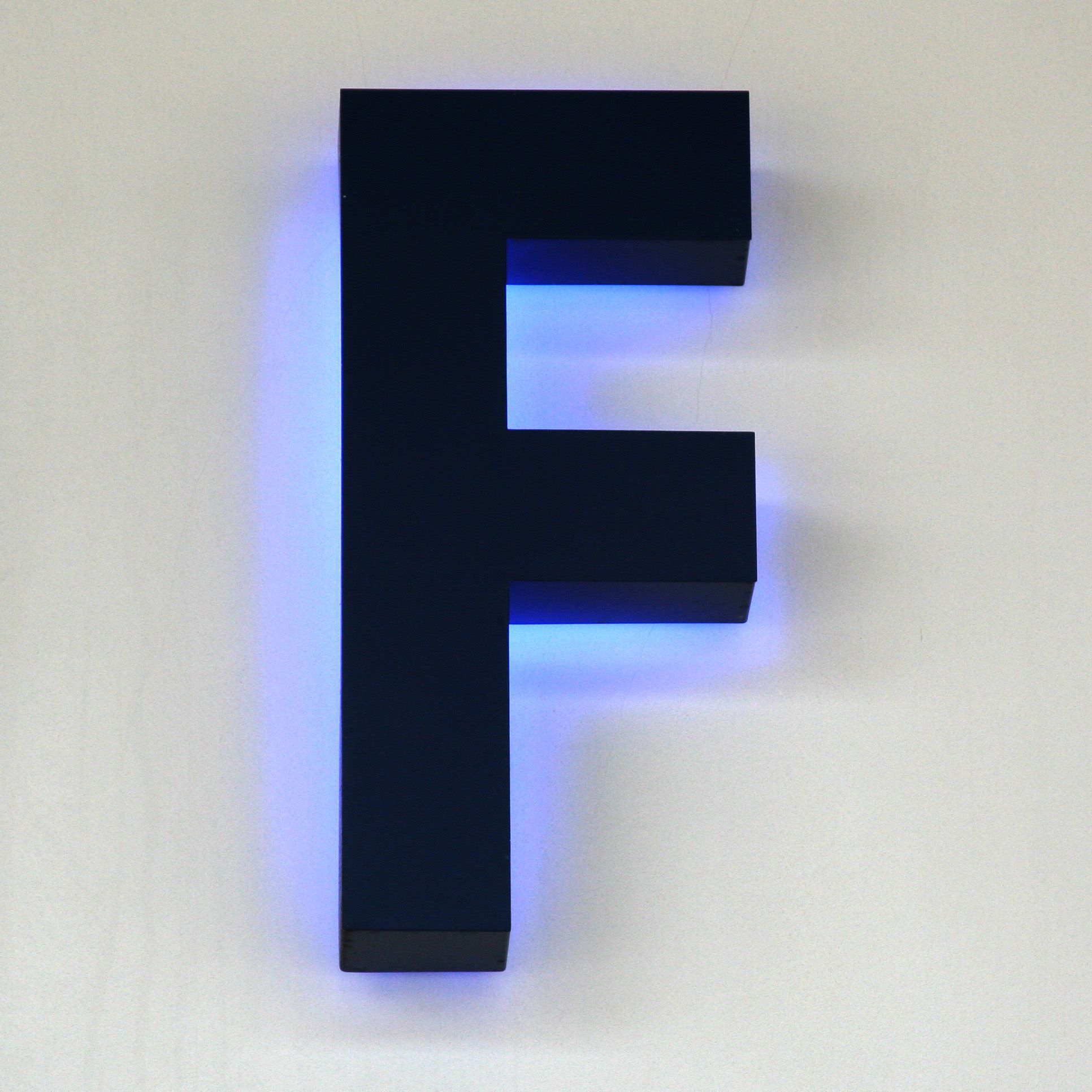 f Galleries Typography One Letter letter F