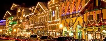 German Christmas Village Washington State.Christmas In Levenworth All The Lights Are Turned On At