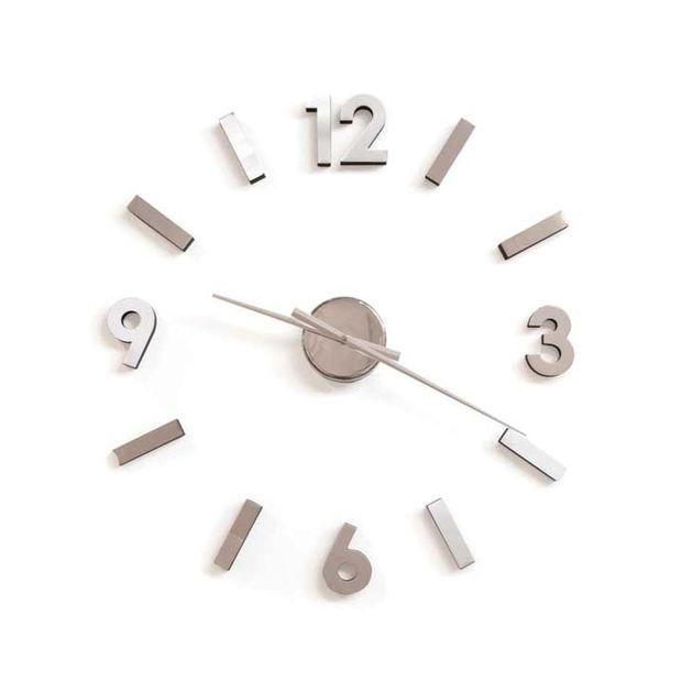Any Which Way Self Adhesive Wall Clock Wall Clock Dot And Bo Clock